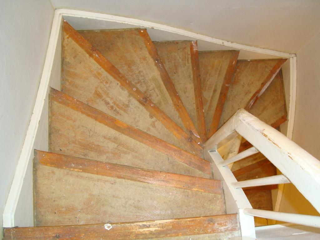 afslibning af trapper