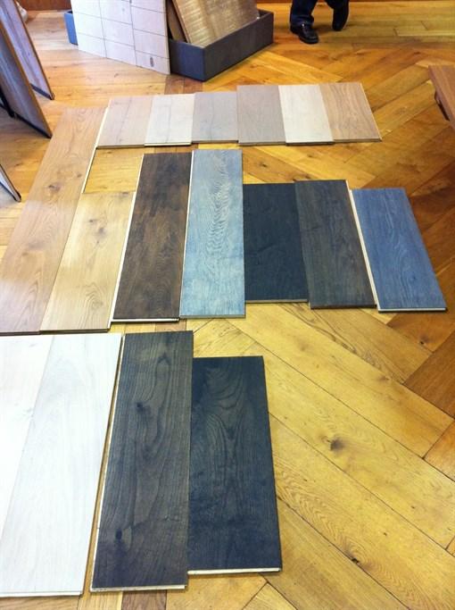 indfarvning af gulve