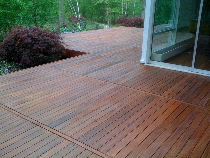 Hvilken gulvbehandling skal en træterrasse have?