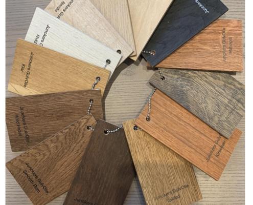 farveeksempler bejdsning af gulve